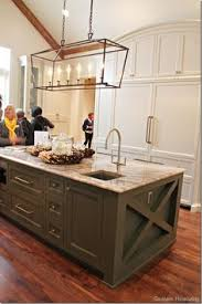 Cooking Islands For Kitchens I Like The Cross And Extension Of The Island Do In Craft Room
