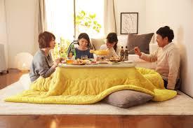 Japanese Kotatsu Kotatsu Dining For Winter At Restaurants On A Train And At Home