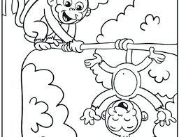 printable coloring pages monkeys cute monkey coloring pages stock awesome cute monkey coloring pages
