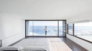 Minimalist Beach House Design by Gorgeous Minimalist Home Overlooking The Ocean In Chile
