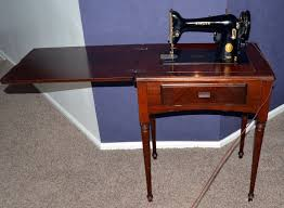 Antique Singer Sewing Machine Table Antique Singer Sewing Machine Made In Canada 1949 In Perry Hall