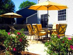 Shade Backyard Blog Beat The Heat What Shade Means To Patio Umbrellas