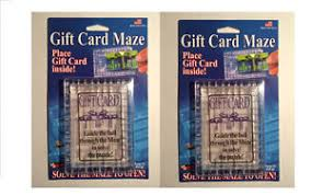 gift card puzzle 2 pack gift card maze puzzle brain teaser challenge