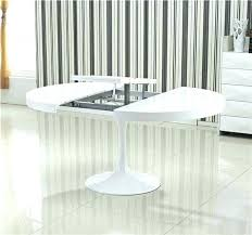 table cuisine ronde table de cuisine ronde en verre pied central ensemble table a manger