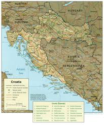 Map Of Croatia And Italy by Maps Of Croatia Detailed Map Of Croatia In English Tourist Map