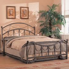 Bedroom Furniture Metal Headboards Shop Coaster Fine Furniture Antique Brass Bed At Lowes Com