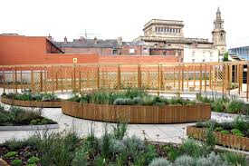empire house preston project page planters seating for roof garden