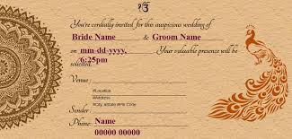 indian wedding cards online free free wedding invitation card online invitations