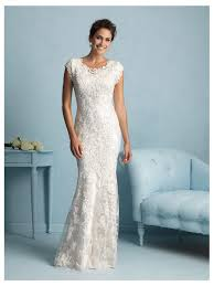 allure modest wedding dress style m536 house of brides