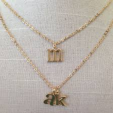 charm necklace letters images Block initial charm necklace jennifer tuton in awwake me jpg