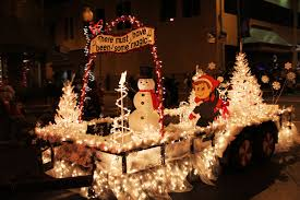 christmas light parade floats we like her our christmas parade float the beginning