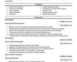 Bookkeeper Resume Samples Cover Letter Sample For Fresh Graduate Electrical Engineer Alabama