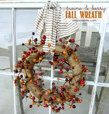 hobby lobby halloween crafts u0026 berry fall wreath simplykierste com
