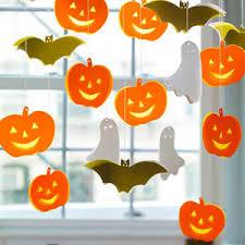 Halloween Decorations Pumpkins Spooky Halloween Mobile Decoration Pumpkins Ghost And Bats