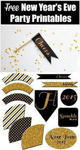 Diy New Years Eve Decorations Printables by 111 Best Nye Images On Pinterest Parties New Years Eve Party
