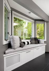 Window Seat In Dining Room - window seat bench simple bay window seating bench with storage