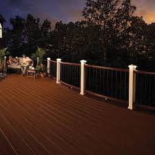 trex led deck lighting image gallery decksdirect