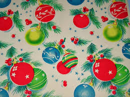 vintage christmas paper vintage 1950s christmas gift wrap paper is so charming pinup