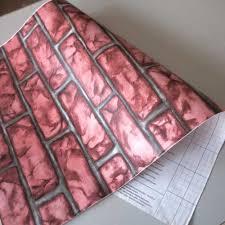 vintage brick peel stick wallpaper self adhesive wall decor