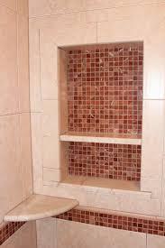 shower accessories new jersey custom tile shampoo shelf and niche