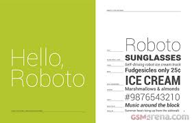android default font s matias duarte talks about the new roboto font in