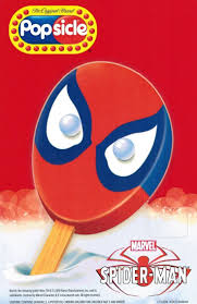 popsicle spiderman bar 4 0 oz 12 count amazon com grocery
