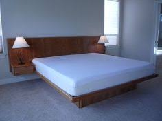 King Size Platform Bed Custom Made King Size Platform Bed Projects To Try Pinterest
