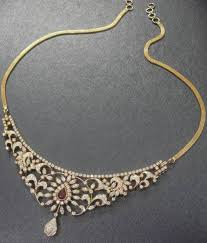 simple diamond sets best 25 indian diamond necklace ideas on wholesale