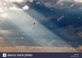 sun shining through clouds stock photo 31796220 alamy