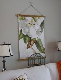 how to hang canvas art without frame hanging frame for poster or fabric print etc made with 2 1x2