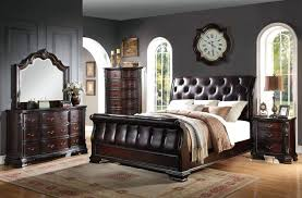 sleigh bedroom set king black bedroom sets black bedroom set