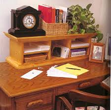 Executive Desk Organizer Desk Organizer Wood Furniture Plans Immediate