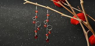 make dangle earrings simple earrings pattern how to make glass dangle