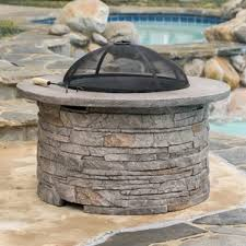 Concrete Fire Pits by Outdoor Fireplaces