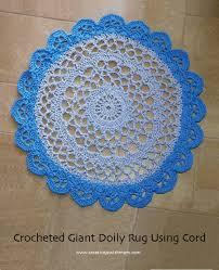 Crochet Bathroom Rug by Creative Jewish Mom Crochet Rugs