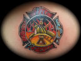 firefighter maltese cross design