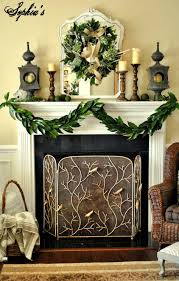 Large Candle Holders For Fireplace by Furniture U0026 Accessories Country Christmas Decorations