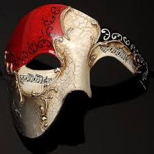 masquerade masks mens musical masquerade mask mardi gras mens phantom half