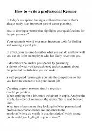 The Perfect Resume Format The Perfect Resume Example Mesmerizing Perfect Resume Objective