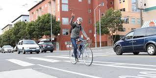sf bicycle coalition intermediate urban biking workshop at sports