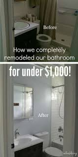 Ideas For A Small Bathroom Makeover - bathroom remodel costs worksheet nick pinterest worksheets