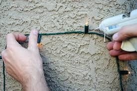 interesting design how to hang lights on stucco hunker