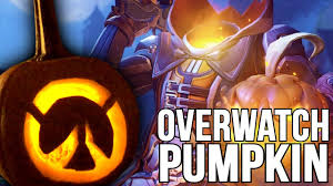 overwatch pumpkin carving nerdiy youtube