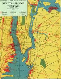 New York Airport Terminal Map by New York Harbor Circle Route Map Noaa Chart Index For The New