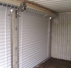 Residential Interior Roll Up Doors Roll Up Doors Interior View Az Containers