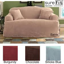 Sure Fit Stretch Pique Shorty Dining Room Chair Slipcover Decorating Have A Wonderful Sofa With Surefit Slipcover Ideas