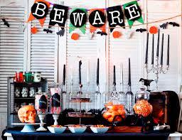 halloween table decor black pumpkin halloween decoations stainless
