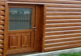 Shiplap Pvc Cladding Wood Effect Metal Garages An Attractive Alternative From Shanette