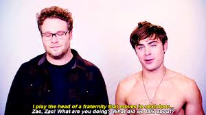 Seth Rogen Meme - seth rogen gushes about shirtless zac efron in neighbors