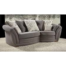 Swivel Cuddle Chair Snuggle Sofas Next Sherlock Studded Snuggle Chair Velour Silver